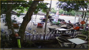 lắp 8 camera tại cafe Cóc hắc Dịch