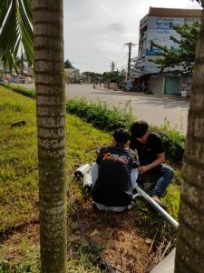 lắp 8 camera tại phường Hắc Dịch